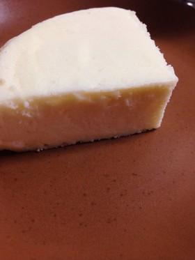 卵白消費♪白いチーズスフレ