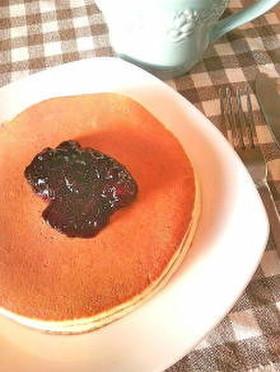 油不使用!簡単!もちふわパンケーキ♡