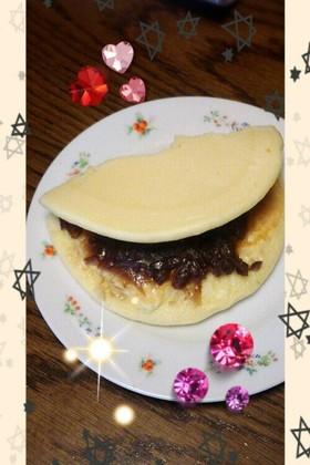 あんこのホットケーキ☆