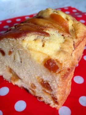 カラメルりんごのパウンドケーキ