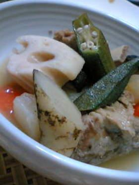 ポトフ風スペアリブと和風野菜の煮物