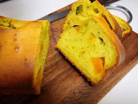 超簡単★豆乳とかぼちゃのパウンドケーキ