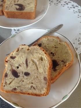 「和」なあんこのしっとりパウンドケーキ
