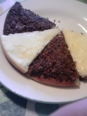 残ったパイ菓子でサクヨーグルトケーキ