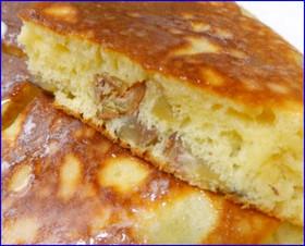 栗好きのホットケーキ