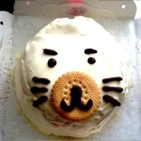 ゴマちゃんドームケーキ