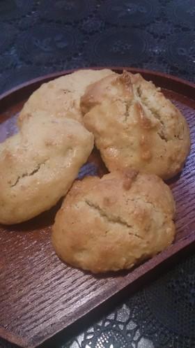 卵×バター不使用★さくさく白ゴマクッキー