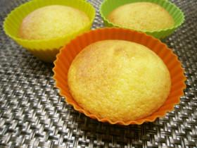 もちもちレモンカップケーキ