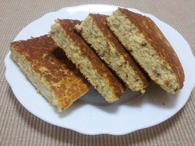 糖質制限・おからパンケーキパターンB