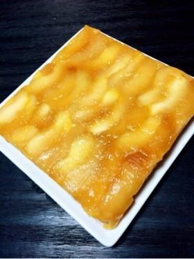 簡単しっとり〜♡タルトタタン風林檎ケーキ
