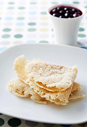 餅クレープwithブルーベリーソース
