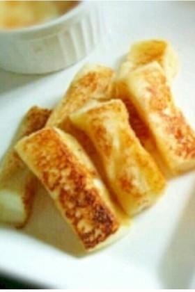 離乳食:中期〜ミルクフレンチトースト