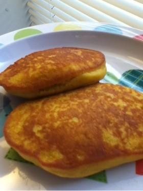カボチャのホットケーキ(小麦・卵不使用)