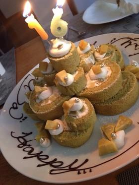 ふわふわふわっ◆ロールケーキ◆基本レシピ