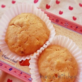 さつまいものカップケーキ☆シナモン風味