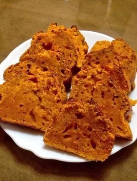 簡単☆かぼちゃパウンドケーキ