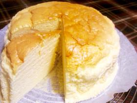 ふわっふわ♪スフレチーズケーキ