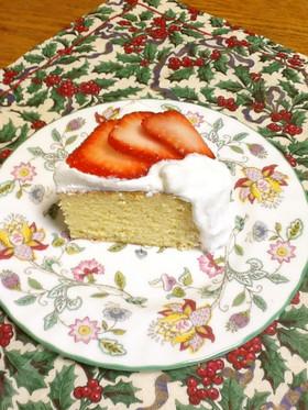 炊飯器で♪おからパウダーのスポンジケーキ