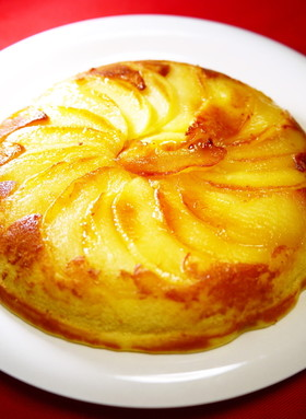 Xmas☆フライパンde林檎チーズケーキ