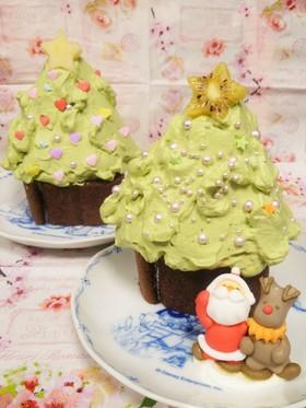 市販ロールケーキで★簡単ツリーケーキ