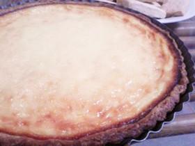 水切りヨーグルトでベイクドチーズケーキ風