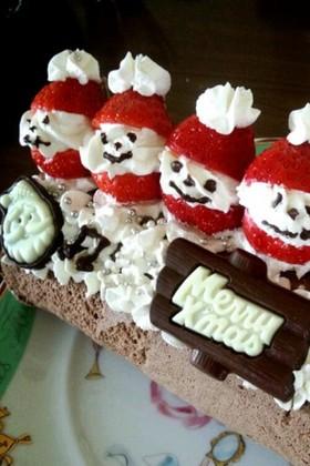 クリスマスロールケーキ