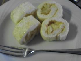 卵白ロールケーキ