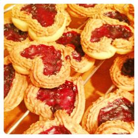 マカロン♥ジャムクッキー