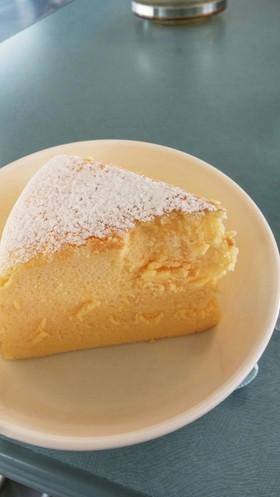 大人のスフレチーズケーキ