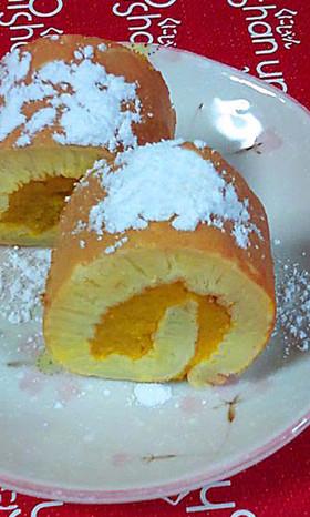 パンプキンロールケーキ♪