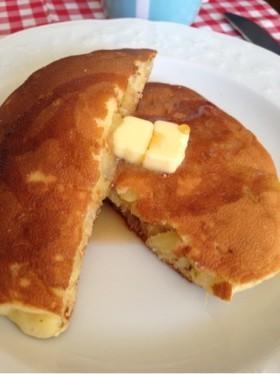 りんごのホットケーキ(^^)