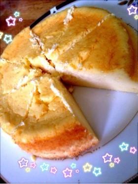 あっという間のチーズケーキ