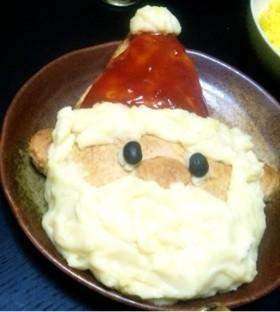 クリスマス☆サンタのミートパイ