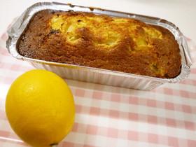 マイヤーレモンのパウンドケーキ