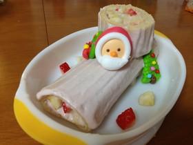 離乳食後期〜*クリスマスケーキ*