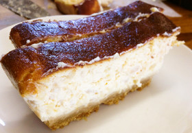 リンゴのベイクドチーズケーキ