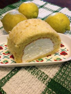冬限定レモンのロールケーキ