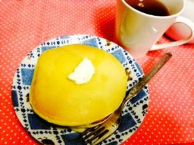 粉から作る豆乳ホットケーキ