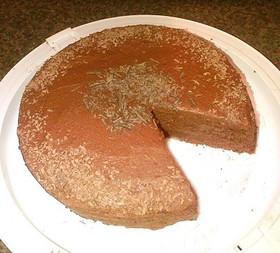 チョコレートファジケーキ