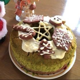 クリスマスツリーシフォン