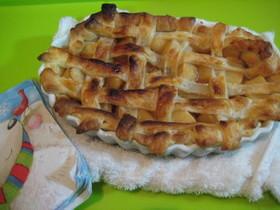 簡単アップルパイ★美味しすぎ!!りんご