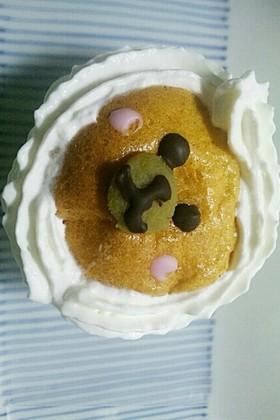 『幼児食』スイートポテトカップケーキ