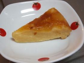 炊飯器で簡単・リンゴのチーズケーキ