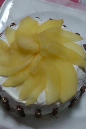簡単☆リンゴケーキ