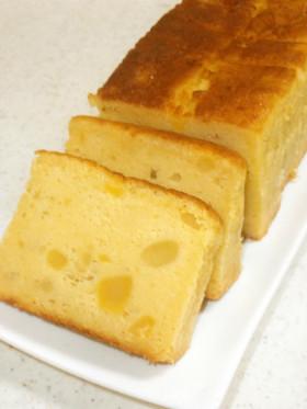 栗きんとんDEパウンドケーキ