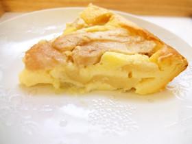 秋冬定番☆洋梨のチーズケーキ*失敗なし