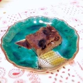 【おせちリメイク】黒豆と黒ゴマのプリン♬