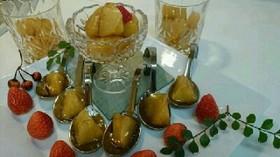 りんごのキャメラーゼ~ 冬簡単デザート♪