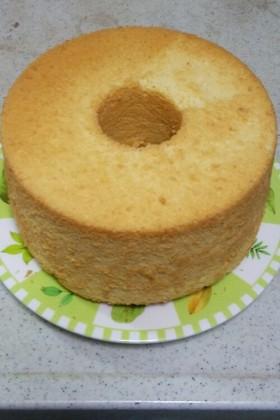キャラメルチーズシフォンケーキ