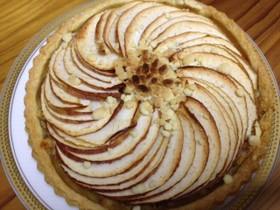 クリームチーズとりんごの簡単本格パイ
